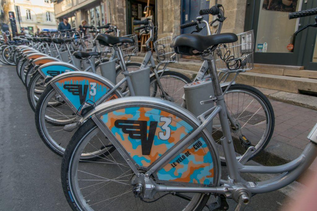 Sehr en vogue: Bikesharing, Carsharing, E-Autos.